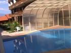 Димитровден в Банско! Нощувка на човек със закуска + празнична вечеря, басейн, сауна и парна баня от Kомплекс Четирилистна Детелина