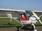 Магичен  полет със самолет!15 или 30 мин. полет за един човек с двуместен самолет край с. Маноле, от Пловдив Еър
