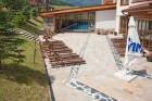 Нощувка на човек със закуска и вечеря + огромен басейн и СПА център в хотел Св. Иван Рилски****, Банско