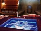 Нощувка на човек със закуска + джакузи, сауна и парна баня в Комплекс Карина, Велинград