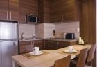 Нощувка на човек в луксозен апартамент със закуска и вечеря + басейн и СПА пакет в Белведере Холидей Клуб, Банско