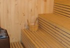 Нощувка на човек със закуска и вечеря + сауна от самостоятелни стаи в къща за гости Планински Здравец, Банско