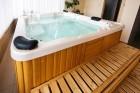 Нощувка на човек със закуска + сауна и джакузи с МИНЕРАЛНА вода за 23.90 лв. в хотел Шарков, Огняново