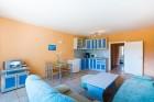 Нощувка в апартамент за до шестима + басейн във Ваканционно селище Дюни на 200 метра от плажа Какао Бийч