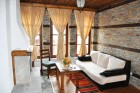 Уикенд в Лещен! Нощувка на човек със закуска и вечеря + сауна в Къщи за гости Лещенски рай