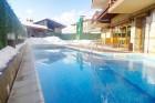 Нощувка на човек със закуска и вечеря + басейн с гореща минерална вода във Вила Минерал 56, с. Баня до Банско, снимка 8