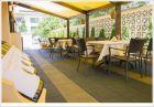 Нощувка на човек със закуска, обяд* и вечеря + лечебен масаж и 20 минутна процедура от специалист терапевт в Хотел Вила Амброзия, Черноморец