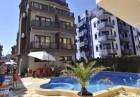 Нощувка на човек със закуска, обяд и вечеря + басейн в хотел Мираж***, Приморско, снимка 7