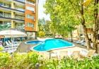 Нощувка на човек със закуска и вечеря + 2 басейна в хотел Сънрайз, Приморско, снимка 16
