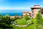 Нощувка на човек със закуска + басейни от Хотел Райска градина*****, на 1-ва линия край Свети Влас. Дете до 12г. - безплатно