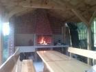 Нощувка за 5 или 8 човека + механа и 2 външни барбекюта в къщи във ваканционно селище Друма Холидейз в Цигов Чарк