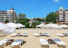 Нощувка на човек със закуска, обяд и вечеря + чадър и шезлонг на плажа от хотел Извора, на 1-ва линия в Златни Пясъци, снимка 3