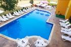Нощувка на човек на база All inclusive + басейн + шезлонг и чадър на плажа в хотел Ориос***, Приморско, снимка 5