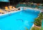 Лято в Слънчев бряг! Нощувка или нощувка със закуска  на човек + басейн в хотел Зора