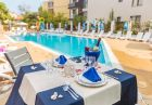 Нощувка на човек на база All inclusive + басейн в Хотел Флагман***, на 70м. от плаж Хармани, Созопол