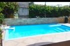 Лято 2019 в Приморско на 50 м. от плажа! Нощувка на човек + басейн в хотел Вермона