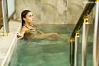 Нощувка на човек със закуска и вечеря + 2 лечебни процедури на ден + минерален басейн в Хотел Царска баня, гр. Баня край Карлово
