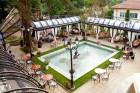 Нощувка на човек със закуска или закуска и вечеря + външен басейн от хотел Рич*****, Велинград