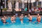 Юли в Златни Пясъци! Нощувка на човек на база All inclusive + 2 външни басейна и водни пързалки в СООЕЕ Мимоза Съншайн хотел****. Дете до 13г. - БЕЗПЛАТНО!