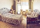 Нощувка на човек със закуска или закуска и вечеря + басейн с минерална вода в хотел Виталис, к.к. Пчелински бани до Костенец