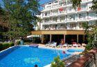 SUPER LAST MINUTE! Нощувка на човек със закуска и вечеря или закуска обяд и вечеря  + басейн в хотел Лотос, Китен, на 50м. от плаж Атлиман