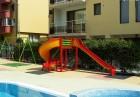Нощувка на човек, възможност за закуска, обяд и вечеря + басейн в хотел Кристал, Равда