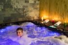 Нощувка на човек със закуска и вечеря + 3 минерални басейна и СПА от хотел Бохема***, Огняново