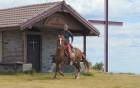 Почивка и езда край Чепеларе! Нощувка за един човек със закуска в Ранчо Диви Родопи в с. Здравец!