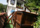 Нощувка за до 10 човека + трапезария с камина и барбекю на цена 150.00 лв. в самостоятелна Къща Дива в с. Скандалото край Априлци