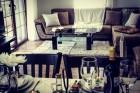 Нощувка за 8, 10 или 26 човека + трапезария, ресторант и сауна в къщи Парил край Гоце Делчев - с. Парил