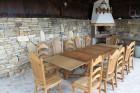 Нощувка за 9 или 18 човека + трапезария с камина, барбекю в Каменните къщи край Елена - с. Яковци, снимка 5