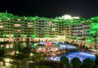 Нова година в хотел Емералд Резорт Бийч и СПА*****, Равда! 1 или 2 нощувки на човек със закуски, вечери и празничен куверт + термо зона