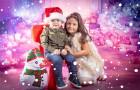 Професионална Коледна фотосесия в студио от фотограф Чавдар Арсов, София. Получавате всички кардри!, снимка 3