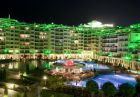 Уикенд в хотел Емералд Резорт Бийч и СПА*****, Равда! Нощувка на човек със закуска и вечеря + релакс зона само за 39.50 лв.