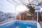 Нощувка на човек със закуска и вечеря + 2 басейна, солен басейн и уелнес пакет само за 63 лв. в Балнеохотел Аура, Велинград, снимка 5