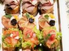 150 броя аранжирани, коктейлни сладки и солени хапки от Кулинарна работилница Деличи, София, снимка 4