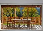 Нощувка за 6 или 12 човека + басейн и трапезария в комплекс Петрови вили в Рибарица, снимка 24