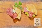 30 празнични парти сандвичи с френски кроаснчета + 30 парти кюфтенца  от Кулинарна работилница Деличи, София, снимка 3