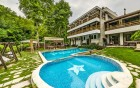 Нощувка на човек със закуска и вечеря + 3 минерални басейна и СПА от хотел Бохема***, Огняново, снимка 2
