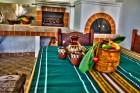 Нощувка за до 11 човека + сезонен басейн, механа, барбекю и просторен двор в къща Крисиели край Кюстендил - с. Горна Брестница, снимка 18