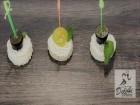 150 броя аранжирани, коктейлни сладки и солени хапки от Кулинарна работилница Деличи, София, снимка 3