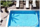 Нощувка на човек със закуска, обяд и вечеря + басейн, релакс пакет и масаж в Хотел Вила Амброзия, Черноморец, снимка 12