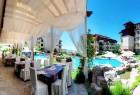 Нощувка на човек + басейни от Апарт хотел Райска градина****, на 1-ва линия край Св. Влас. Дете до 12г. - безплатно, снимка 17