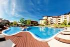 Нощувка на човек + басейни от Апарт хотел Райска градина****, на 1-ва линия край Св. Влас. Дете до 12г. - безплатно, снимка 10