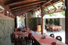 Море 2020! Нощувка на човек със закуска, обяд и вечеря  + басейн в семеен хотел М1, Приморско, снимка 7