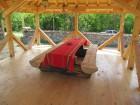 Нощувка за 12 човека + сезонен басейн, просторен двор, детски кът и барбекю в къща Край потока в Крушуна, снимка 15