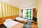 До края на юни: Нощувка, закуска и вечеря + басейн на 30 м. от плажа в хотел Амбасадор***, Златни Пясъци. Дете до 13г. - безплатно, снимка 4