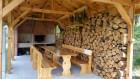 Нощувка за 5 или 8 човека + механа и 2 външни барбекюта в къщи във ваканционно селище Друма Холидейз в Цигов Чарк, снимка 6