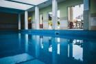 Нощувка на човек със закуска и вечеря + открит и закрит минерален басейн, сауна, парна баня и джакузи от хотел Алексион Палас, Огняново, снимка 13