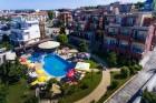 Късно лято в Созопол на 50м. от плажа! Нощувка със закуска + басейн в хотел Съни***, снимка 7
